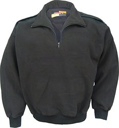 Solar 1 Clothing PS01 Fleece Pullover, Navy, Large