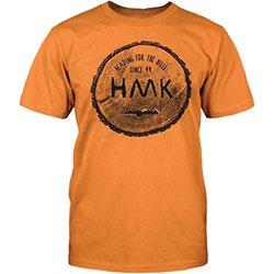 HMK Men's Rounder Tee (Orange, Large)