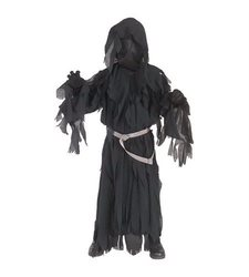 Rubies Lord of The Rings Ringwraith Costume for Kids - Black - Small