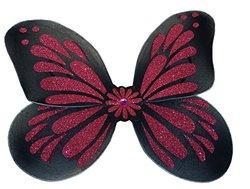 "WeGlow International Kids 18"" Black and Fuchsia Butterfly Wing Toy"