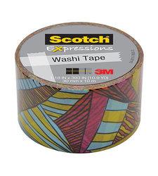 "3M 1-3/16"" x 394"" Scotch Expressions Washi Tape - Kaleidoscope"