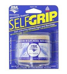 Self-Grip Self-Adhering Athletic Tape/Bandage 2 Inches, Beige 1 ea (Pack of 3)
