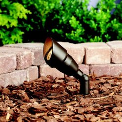 Kichler 15381AZT6 Accent 1-Lt 12V In Textured Architectural Bronze
