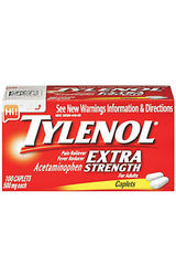 Tylenol Extra Strength Pain Reliever & Fever Reducer Caplets - 100 count