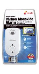 Kidde 21007308 Nighthawk Carbon Monoxide Alarm with Battery Back-Up