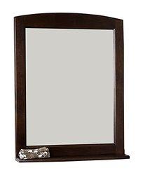 American Imaginations AI-106-71 Traditional Birch Wood-Veneer Wood Mirror, 24-Inch x 32-Inch, Walnut Finish