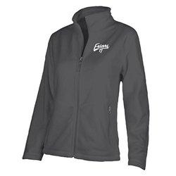 Ouray Sportswear Women's NCAA Providence Friars Luxe Jacket -Dark Grey - L