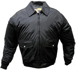 Solar 1 Men's NY01 NYPD Style Police Duty Jacket - Black - Sz: Small