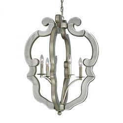 ELK Lighting-Pendant-19102/4 Silver
