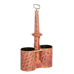 Abigails Kashmir Double Wine Caddy