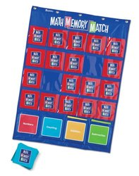 Learning Resources Math Memory Match Pocket