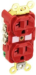 Receptacle, Hubbell Wiring Device-Kellems, HBL5362R