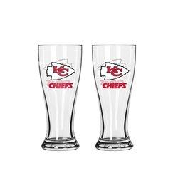 Boelter 2.5 oz. NFL Kansas City Chiefs Mini Pilsner - Pack of 2