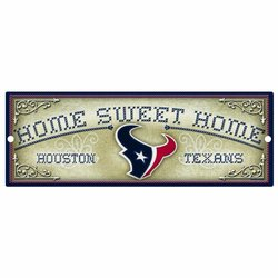 "Wincraft Houston Texans 6X17"" Wood Sign One Color"