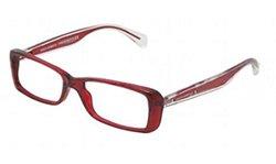 Dolce & Gabbana Women's Designer Eyewear, Red/Demo Lens, 53-15-137