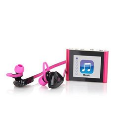 JLab Bluetooth Fitness Bundle: Pink