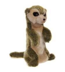 The Puppet Long Sleeves Meerkat Hand Puppet Animal Toy