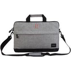 """Targus Strata Carrying Case for 15.6"""" Notebook - Pewter (TSS63204US)"""