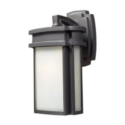 Elk Sedona Outdoor Wall Sconce Light - Graphite
