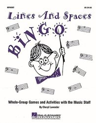 Lines And Spaces Bingo - For Grades 3 - 8