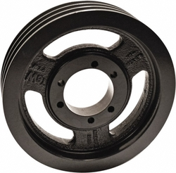 "TB Woods 1603B Classical V-Belt Sheave, B Belt Section, 3 Grooves, SK Bushing required, Cast Iron, 16.35"" OD"