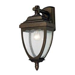 ELK Lighting-One Light Weathered Rust Wall Lantern-27010/1