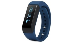 Best Deal Waterproof Bluetooth Activity Tracker and Watch - Blue