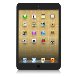 """Apple iPad Mini 7.9"""" Tablet 64GB Wi-Fi - Black (MD530LL/A)"""