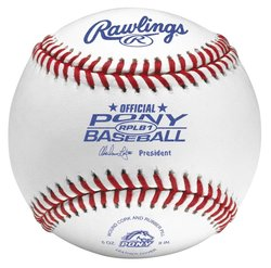 Rawlings Pony League Competition Grade Baseballs 12 Pc - White
