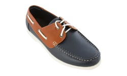 Alesandro Monelli Lawerence Men's Boat Shoes - Navy - Size: 9