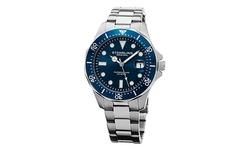 Stuhrling Original Men's Aquadiver Watch - Blue Dial