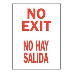 Brady 38309, Bilingual Sign (Pack of 10 pcs)