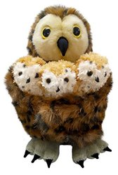 Puppet Hide Away Puppets Tawny Owl Toy w/ 3 Babies Hand Puppet (PC003025)