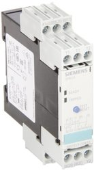 Siemens 3RN1013-1GW10 Thermistor Motor Protection Relay, Screw Terminal, Standard Evaluation Units, 2 LEDs, 22.5mm Width, Manual/Auto/Remote Reset, 2 CO Hard-Gold-Plated Contacts, 24-240VAC/VDC Control Supply Voltage
