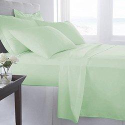 6-piece Bed Sheets Set: King/sage