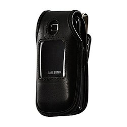 Turtlebackcase A-SAMC414HDL HD Leather Case for Samsung C414 - Non-Retail Packaging - Black