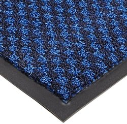 "Notrax 145 Preference Entrance Mat, for Inside Foyer Area and Main Entranceways, 3' Width x 4' Length x 5/16"" Thickness, Blue"