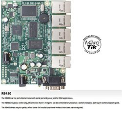 Mikrotik RouterBOARD 450, RB450 RB/450 300mhz 32MB 5 port OSL5 - RB/450