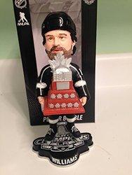 NHL Los Angeles Kings Williams J. #14 2014 Stanley Cup Champions MVP Bobble Road Figurine, Black