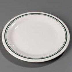 Orleans Bone Durus Designer Pattern Narrow Rim Dinner Plate 9 inch -- 24 per case