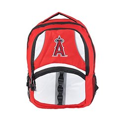 MLB Los Angeles Angels Captain Backpack - 18.5-Inch - Red