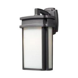 ELK Lighting Sedona 1 Light Outdoor Sconce in Graphite 42341/1