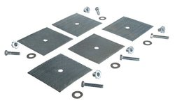 Vestil SB-108-GDK 5-Hole Glue-Down Installation Kit for Speed Bump