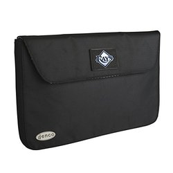 MLB Tampa Bay Rays Laptop Case, 17-Inch, Black