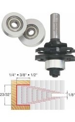Freud 61-102 1/8-Inch Stacked Slot Cutter Router Bit Set