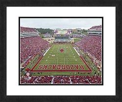 "NCAA Arkansas Razorbacks Stadium, Beautifully Framed and Double Matted, 18"" x 22"" Sports Photograph"