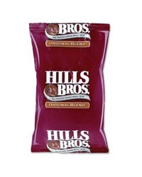 Office Snax OFX01084 Red/Black Hill Bros. Original Blend Coffee - 24 Packs