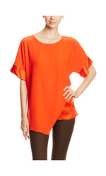 Lafayette 148 New York Women's Raquel Top - Begonia - Size: XL