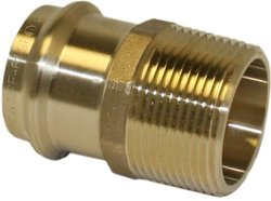 Apollo Valves 10075252 1-1/2-Inch by 1-1/4-Inch Male Copper Reducing Adapter