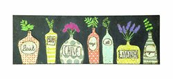 Creative Co-Op Embossed Metal Wall Decor with Floral Image